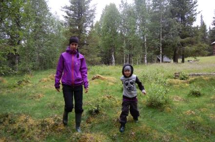 Erika och Jack går på gammal mark.